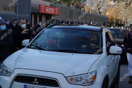 Commemoration for Paolo Rossi at the Curi stadium in Perugia