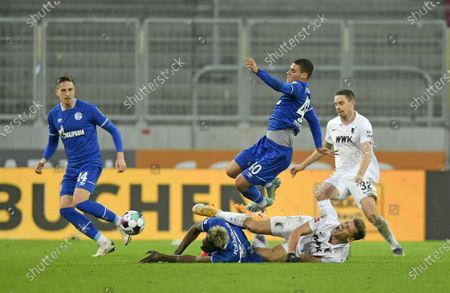 Editorial photo of FC Augsburg v FC Schalke 04, Bundesliga, Germany - 13 Dec 2020