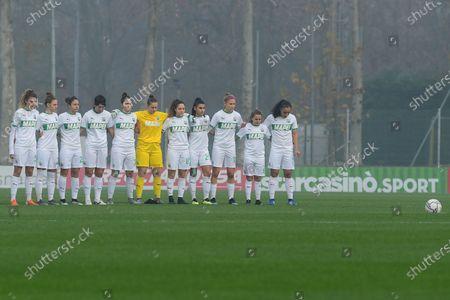 Editorial photo of AC Milan Women v AS Roma Women, Italian Series A, Italy - 13 Dec 2020