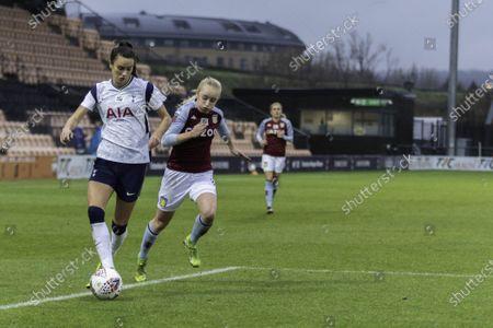 Editorial image of Tottenham vs Aston Villa, FA Women's Super League, UK - 13 Dec 2020