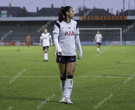 Editorial photo of Tottenham vs Aston Villa, FA Women's Super League, UK - 13 Dec 2020