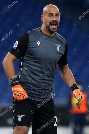 Pepe Reina of Lazio, SS Lazio v Hellas Verona, Serie A