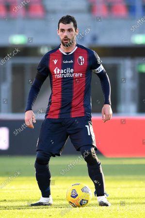 Andrea Poli of Bologna FC in action during Bologna FC vs AS Roma, Italian football Serie A match in Bologna, Italy, December 13 2020