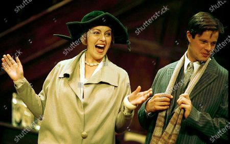 Editorial photo of 'Easy Virtue' Play performed at Chichester Festival Theatre, East Sussex, UK - 26 Jul 1999