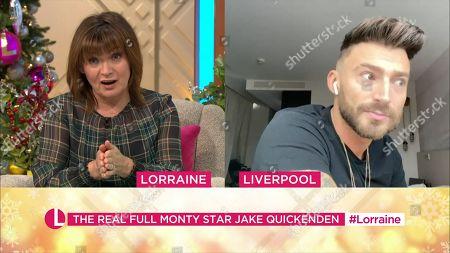 Lorraine Kelly and Jake Quickenden