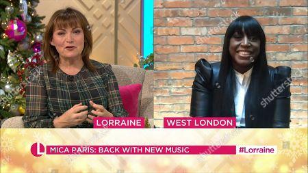 Lorraine Kelly and Mica Paris