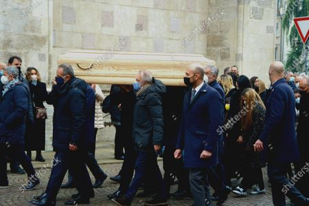 Editorial image of Funeral of Paolo Rossi, Vicenza, Italy - 12 Dec 2020