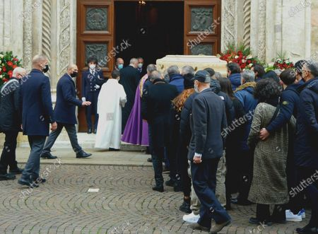 Editorial picture of Funeral of Paolo Rossi, Vicenza, Italy - 12 Dec 2020