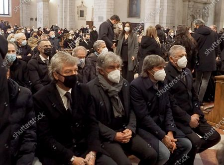 Editorial photo of Paolo Rossi funeral, Vicenza, Italy - 12 Dec 2020