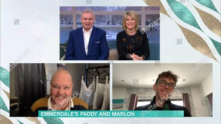 Eamonn Holmes, Ruth Langsford, Dominic Brunt and Mark Charnock