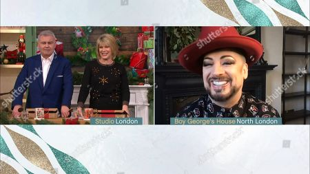 Editorial image of 'This Morning' TV Show, London, UK - 14 Dec 2020