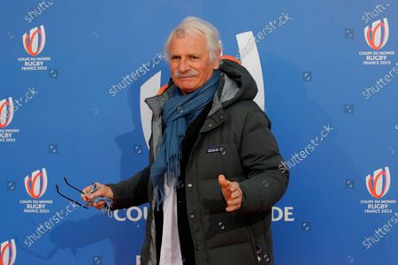 French photographer Yann-Arthus Bertrand poses before the Rugby World Cup 2023 draw, in Paris