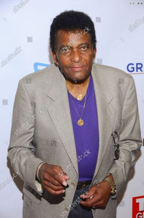 Stock Picture of Country singer Charley Pride attends the TV Guide Magazine cover party for Sela Ward at The Rickey at the Dream Hotel Midtown on Wednesday, October 11, 2017 in New York.