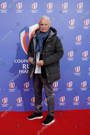 Photographer Yann-Arthus Bertrand arrives