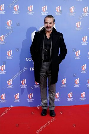 Stock Picture of Oscar winning actor Jean Dujardin arrives
