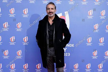 Oscar winning actor Jean Dujardin arrives