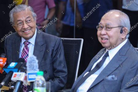 Editorial image of Mahathir Bin Mohamad press conference, Kuala Lumpur, Malaysia - 14 Dec 2020