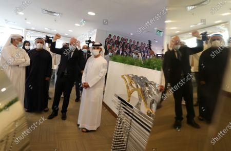 Editorial picture of FIFA President Gianni Infantino in Dubai, United Arab Emirates - 14 Dec 2020