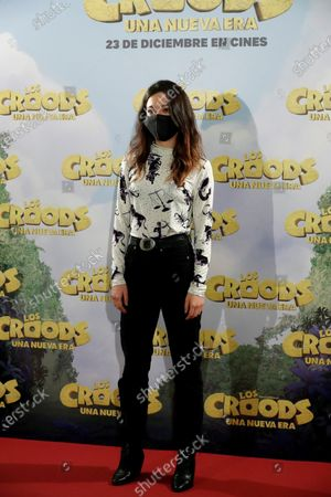 """Editorial image of Presentation of the film 'The Croods. A New Era"""", Madrid, Spain - 14 Dec 2020"""