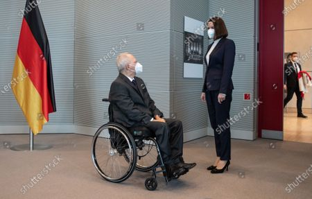 Editorial photo of Belarusian Politician Sviatlana Tsikhanouskaya visit to Berlin, Germany - 14 Dec 2020