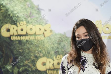 Editorial photo of 'The Croods: A New Era' photocall, URSO Hotel, Madrid, Spain - 14 Dec 2020