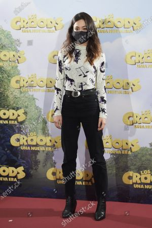 Editorial picture of 'The Croods: A New Era' photocall, URSO Hotel, Madrid, Spain - 14 Dec 2020