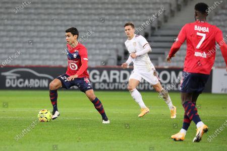 Editorial photo of French L1 football match, Lille OSC vs Girondins Bordeaux, Stade Pierre Mauroy, Villeneuve d'Ascq, France - 13 Dec 2020