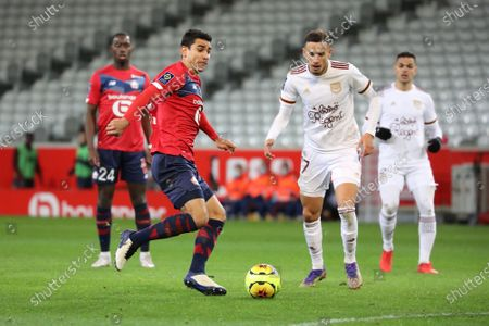 Editorial picture of French L1 football match, Lille OSC vs Girondins Bordeaux, Stade Pierre Mauroy, Villeneuve d'Ascq, France - 13 Dec 2020