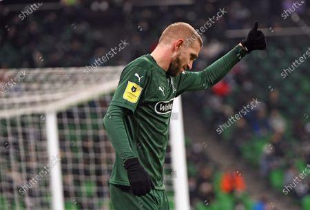 Stock Picture of Krasnodar player Yuri Gazinskiy