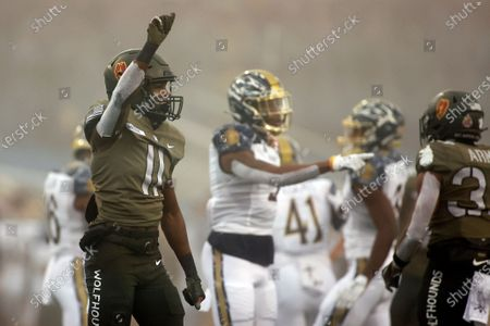 Editorial image of Navy Army Football, West Point, United States - 12 Dec 2020