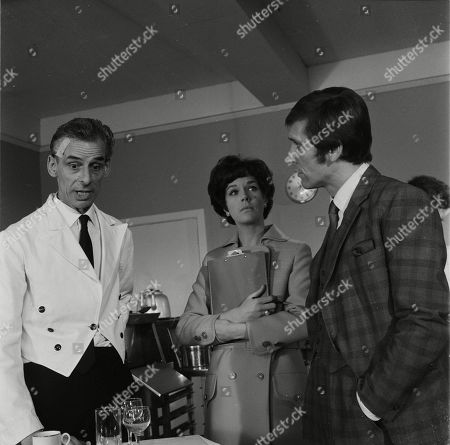 Stock Picture of Reginald Jessup as Gerald, Rosemary Nicols as Annabelle Hurst and Joel Fabiani as Stewart Sullivan