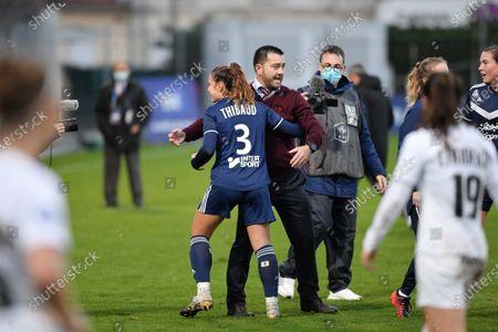 Editorial picture of FC Girondins Bordeaux v Montpellier Herault SC, Division 1 Féminine, Football, Stade Jean-Antoine Moueix, Libourne, France - 12 Dec 2020
