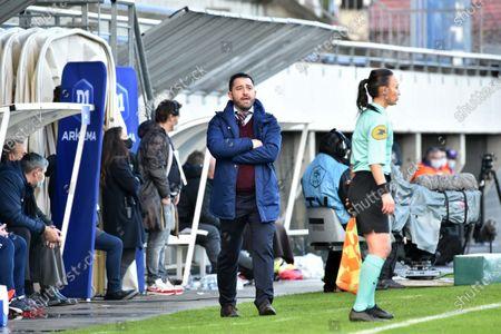 Stock Image of Pedro Martinez Losa of FC Girondins de Bordeaux