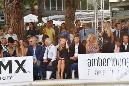 Eddie Irvine (IRL) at the Amber Lounge fashion show