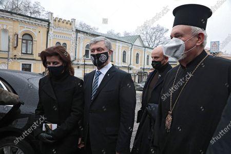 Editorial photo of Briefing of Petro Poroshenko in Kyiv, Ukraine - 13 Dec 2020