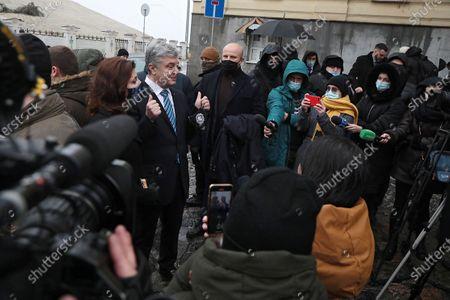 Editorial picture of Briefing of Petro Poroshenko in Kyiv, Ukraine - 13 Dec 2020