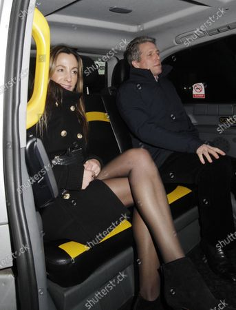 Hugh Grant and Anna Elisabet Eberstein went to Loulou's