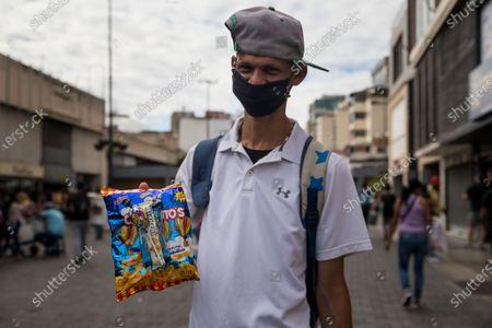 Editorial photo of Daily life in Caracas, Venezuela - 14 Dec 2020