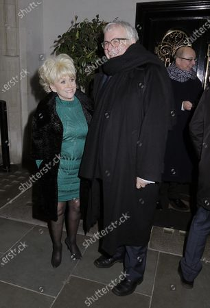 Editorial picture of Barbara Windsor out and about, London, UK - 15 Jan 2016