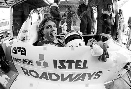 Steve Harrington (AUS) Ralt RT30-VW. British Formula Three Championship, Rd 2, Thruxton, England, 10 March 1985.