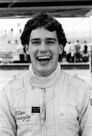 Steve Harrington (AUS). British Formula Three Championship, Rd 2, Thruxton, England, 10 March 1985.