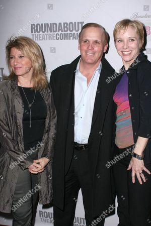 Liz Larsen, Scott Ellis and Charlotte d'Amboise
