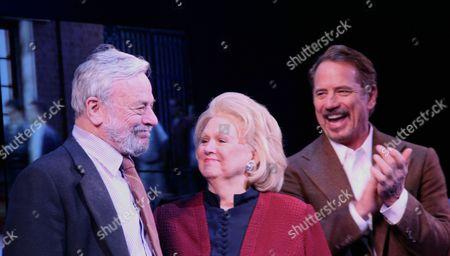 Stephen Sondheim, Barbara Cook and Tom Wopat
