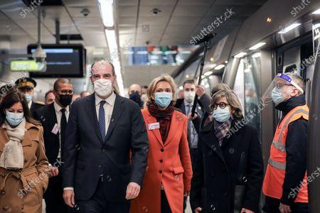 Editorial picture of Extension of Metro Line 14, Paris, France - 14 Dec 2020