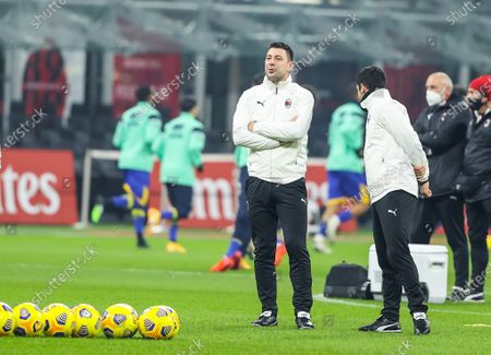 Stock Picture of Daniele Bonera assistant coch of AC Milan