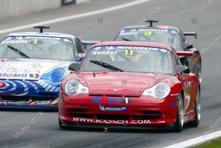 Stock Photo of Hubert Neuper (AUT) Kadach. Porsche Supercup Rd3, A1-Ring, Austria, 12 May 2002. DIGITAL IMAGE