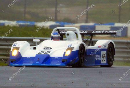 Gianni Collini (ITA) / Fabio Mancini (ITA) / Massimo Saccomanno (ITA) GP Racing Lucchini Alfa Romeo finished 2nd in SR2. FIA Sports Car Championship, Estoril, Portugal, 13 April 2003. DIGITAL IMAGE.