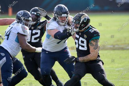 Editorial image of Titans Jaguars Football, Jacksonville, United States - 13 Dec 2020