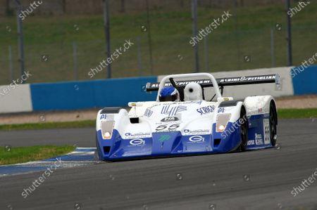 Massimo Saccomanno (ITA) / Fabio Mancini (ITA) / Gianni Collini (ITA) Lucchini Alfa Romeo finished in 4th place. FIA Sportscar Championship, 8-10 August 2003, Donington Park, England. DIGITAL IMAGE.