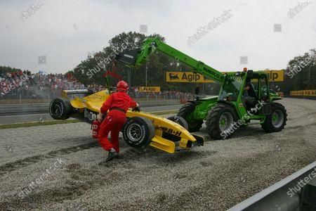 Editorial photo of Formula 1, Formula One World Championship - 12 Sep 2004